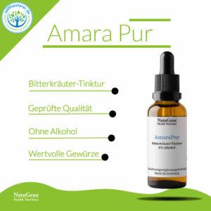 Amara Pur Bitterkräuter Tinktur